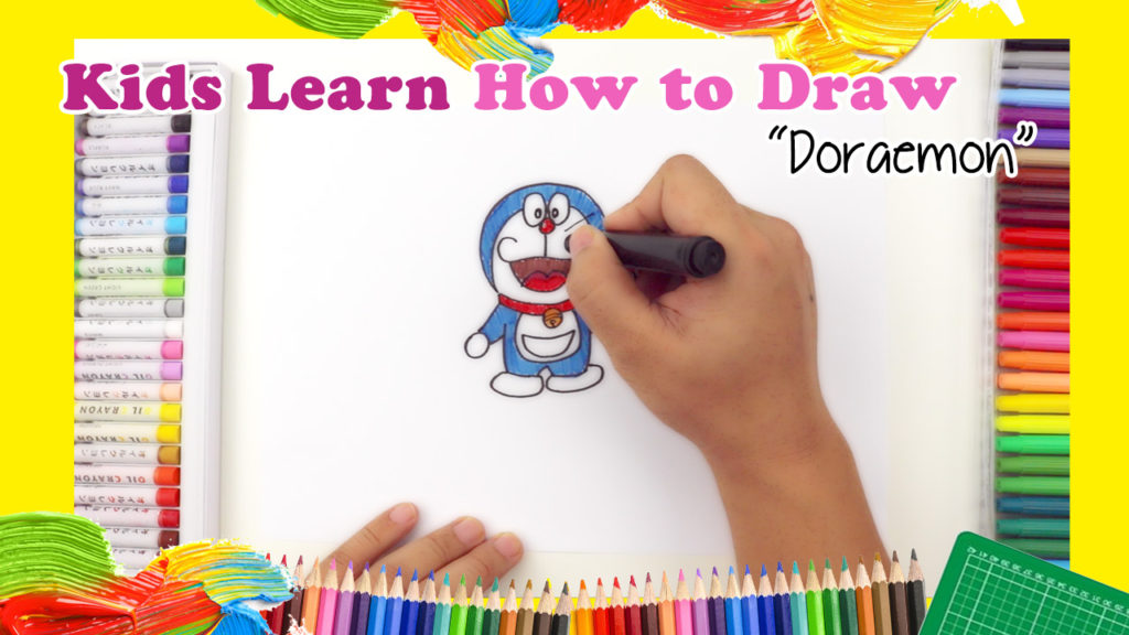 learn how to draw doraemon