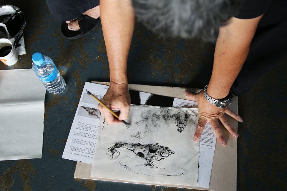 28 artists visited Sembawang Air Base