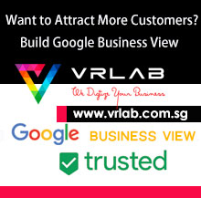 VRLAB Singapore create your google business view
