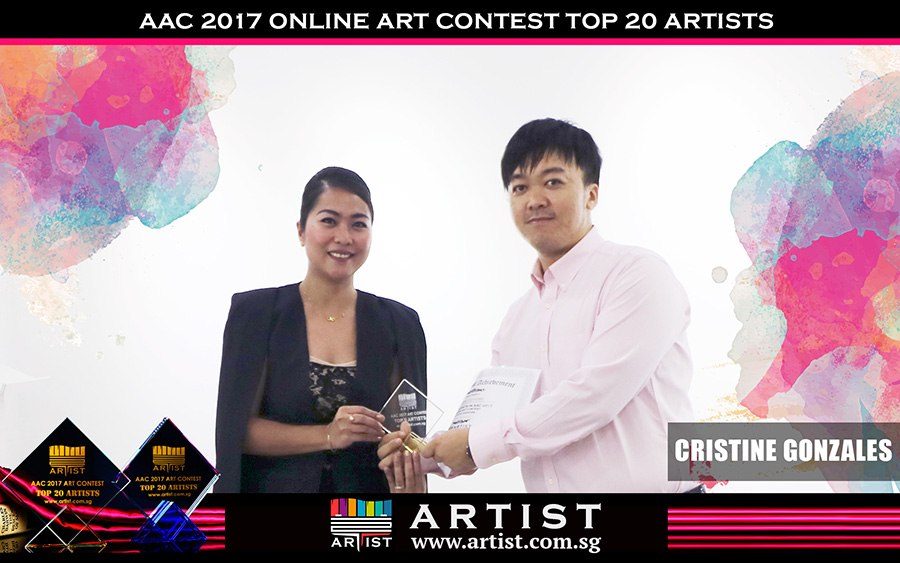 AllGo Digital Group CEO Steven Fang present the Top 5 awards to the contest winners