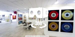 VR art exhibition