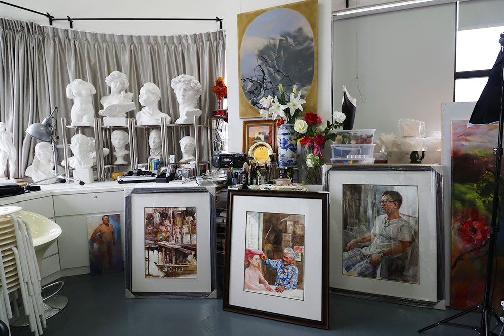 Artist Fan Shao Hua's Hua Feng Creative Space