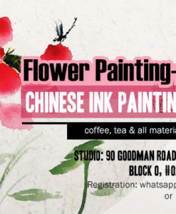 Lotus Chinese painting for beginners