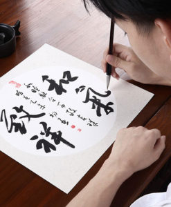 chinese painting art paper