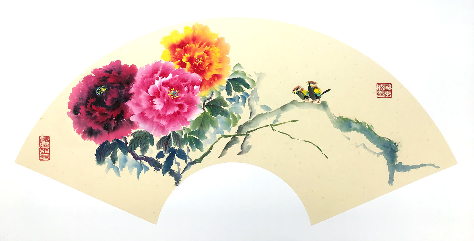 flower chinese painting workshop