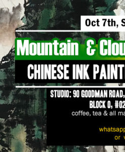 chinese ink painting workshop 山水画工坊
