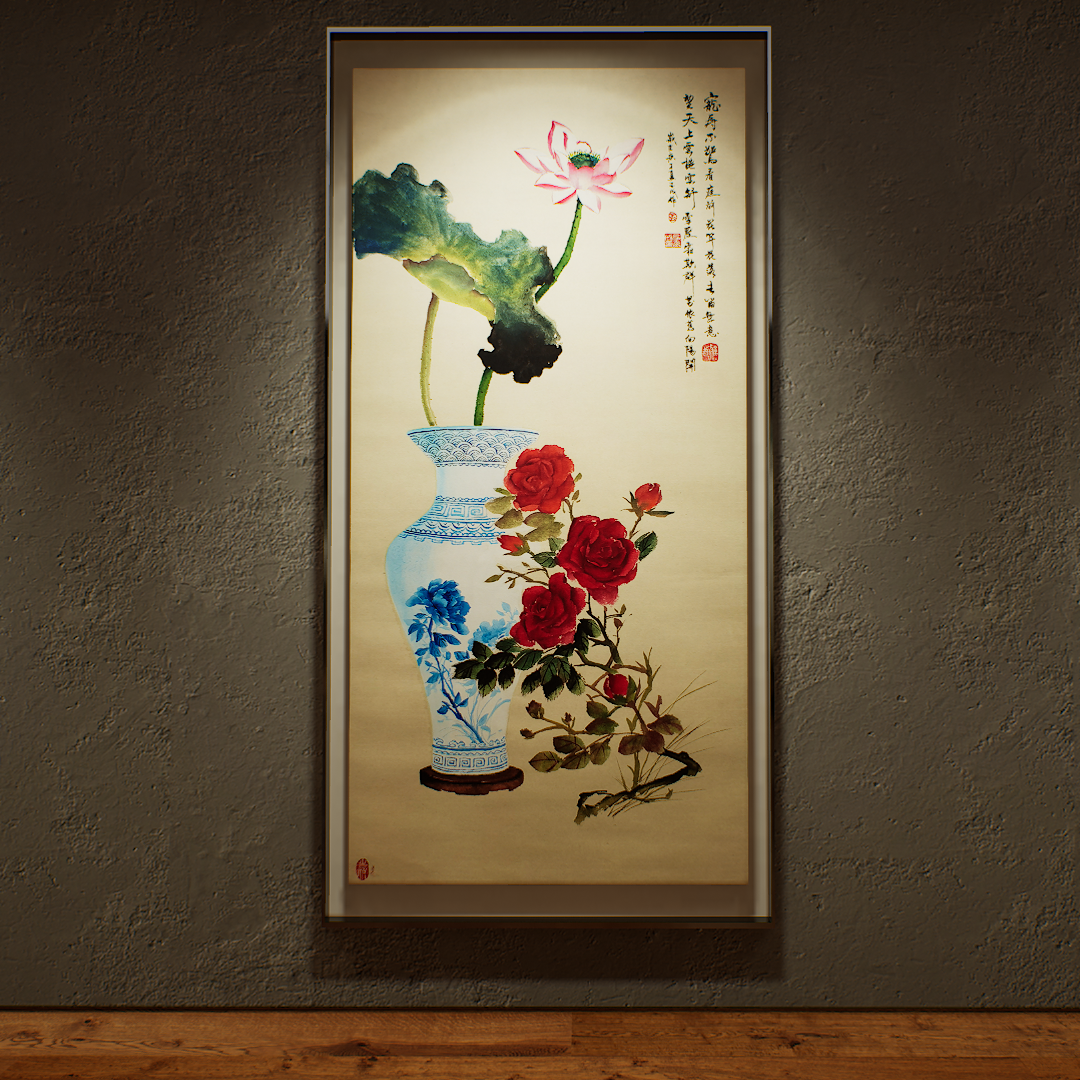 large Chinese Painting Course