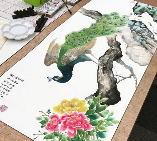 singapore chinese painting course bird painting