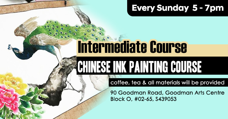 Chinese painting course intermediate level