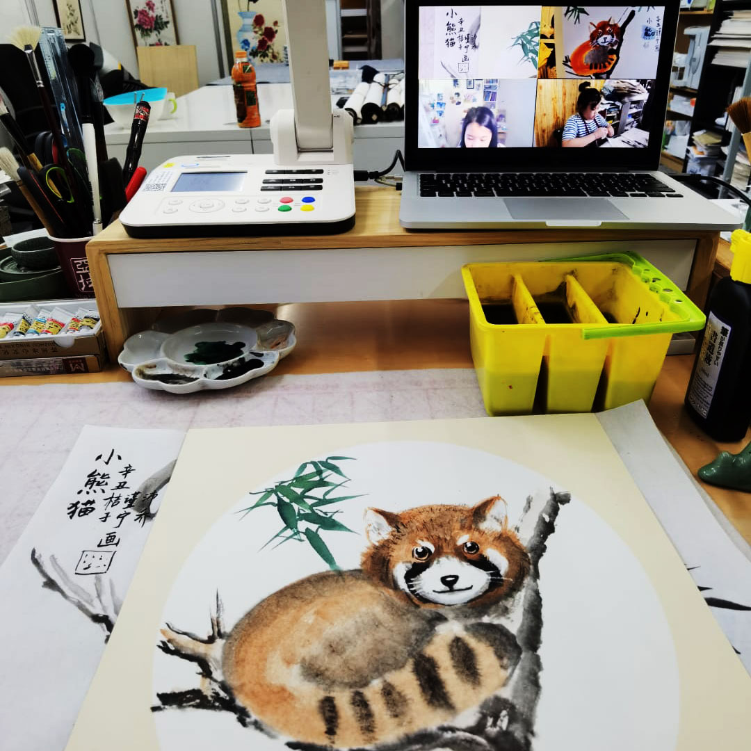 Singapore chinese painting course for kids
