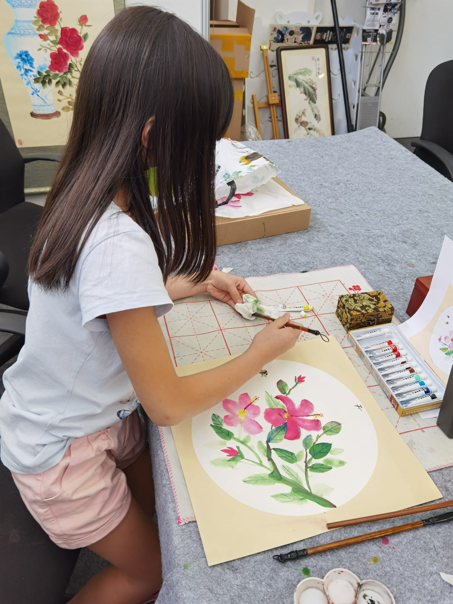 chinese painting class in singapore